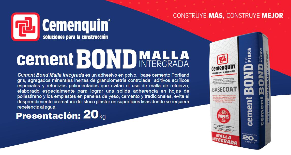 Cement Bond Malla Integrada Cemenquin