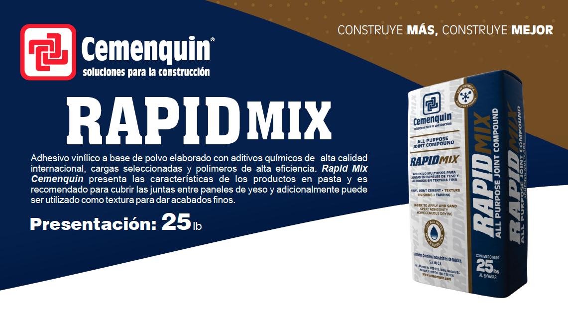 Rapid Mix Cemenquin
